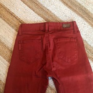 Paige Verdugo Jegging Jeans Size 25